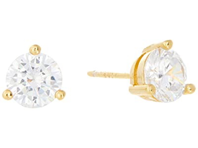 SHASHI Solitaire Stud Earrings (Gold) Earring