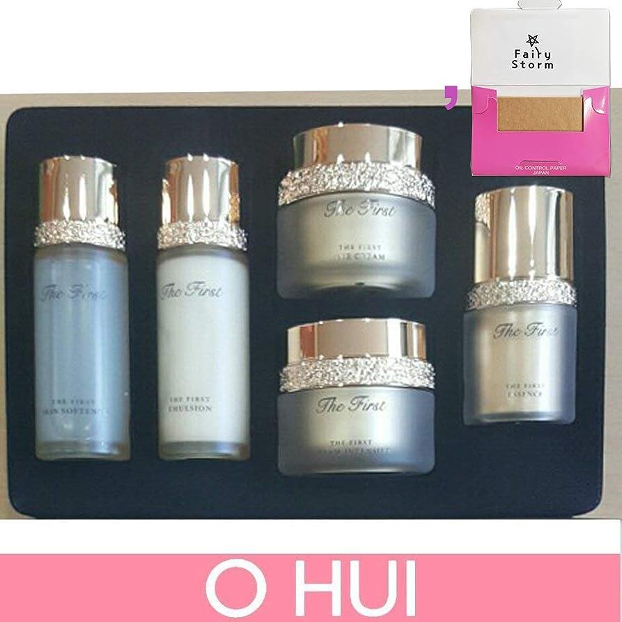悪夢気性口頭[オフィ/O HUI]韓国化粧品 LG生活健康/OHUI the First Cell Revolution 5pcs Special Kit Set + [Sample Gift](海外直送品)