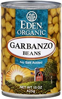Eden Organic Garbanzo Beans 15.0 OZ(pack of 4)
