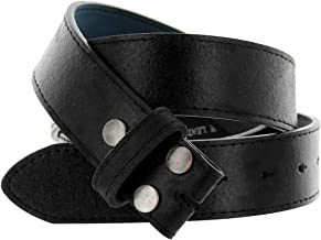 Classic Vintage Casual Jean Replacement Leather Belt Strap 1-1/2