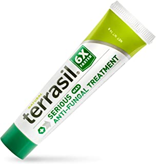 Terrasil Anti-fungal Treatment Max 14gm - 6X Faster Healing, Natural Soothing Clotrimazole OTC- Registered Ointment for Fu...