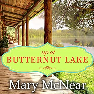 Up at Butternut Lake audiobook cover art