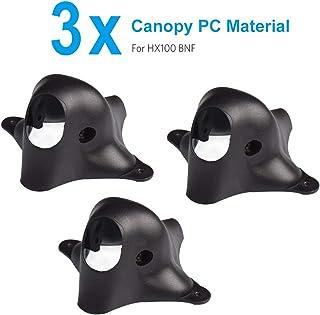 BETAFPV 3pcs Customized EOS2 FPV Canopy PC Black for EOS2 Camera Runcam Nano V2 Camera on HX100 Beta75X FPV 3S Beta85X FPV Whoop Drone