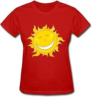 Sunshine 100% Cotton T Shirt for Female