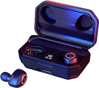 """comprar comparacion 144 Horas de Reproducción con Nuestros Auriculares Inalámbricos, con Bluetooth 5.0 Auriculares Estéreo e Inalámbricos """"in-..."""