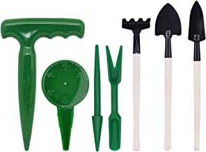 Tingz 7 in 1 Tool Flower Plant Sets, Zaden Perforator, Planter Dispenser Set voor zaailingen, bonsai, vetplanten, kruiden,...