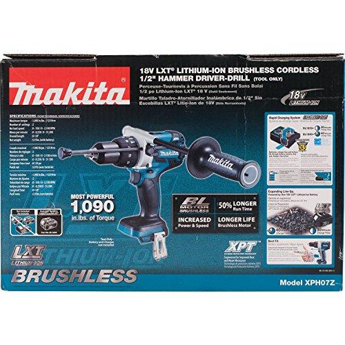 Makita XPH07Z 18V LXT Lithium-Ion Brushless Cordless 1/2