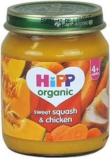 Hipp 4 Month Organic Sweet Squash & Chicken 125g