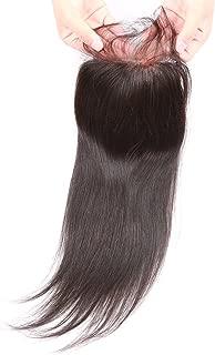 Beata Hair Top Closure Brazilian Straight Lace Closure Human Hair Free Part with Baby Hair (14inch)