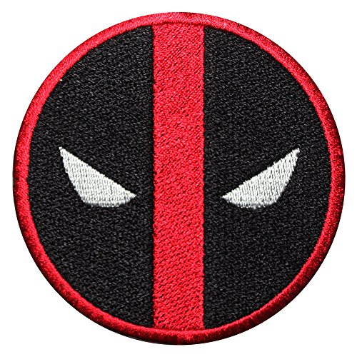 REAL EMPIRE DeadPool logo SuperHero Film Nieuwe IJzer/Naai op Geborduurde patch Fancy jurk Kostuum T Shirt Bag Jacket Badge (414)