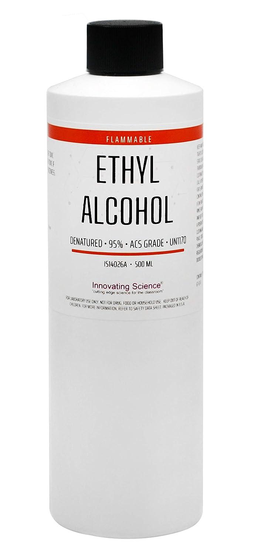 ACS Reagent Grade Selling and selling 95% 500mL Denatured Alcohol Atlanta Mall Ethyl