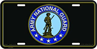 U.S. Army National Guard License Plate
