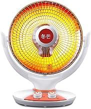Heater 800W Pequeño Calentador Solar Home Office Agita Automáticamente La Cabeza 120 Grados Calentamiento Granangular Calefacción Rápida Estufa A La Parrilla Ventilador Caliente 50 * 42 * 30 Cm