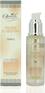 Hyaluronic Acid Anti Ageing Serum - Hydrating Facial Care with Hamamelis Cucumber Melissa I 50 ml Hyaluronic Gel Concentrate Edition 3 I Made in Germany