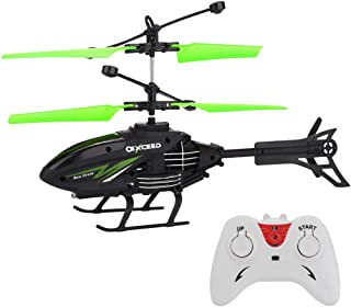 BAAS Kids Flying Toys RC Helicopters, Remote Control Infrared Induction Mini Helicopter with 2 Channel Gyro Alloy Festival...