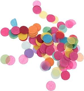 Gazechimp 1000 piezas de Papel Colorido de Mesa de Confeti