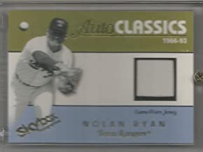 nolan ryan game used