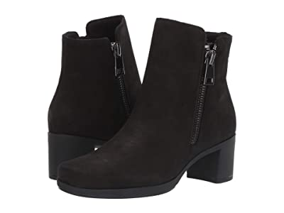 Munro Devon (Black Pebbled Nubuck) Women