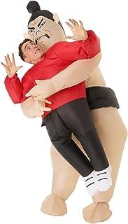 Morph Divertido Disfraz Inflable Sumo Adultos - Una talla le queda a la mayoría