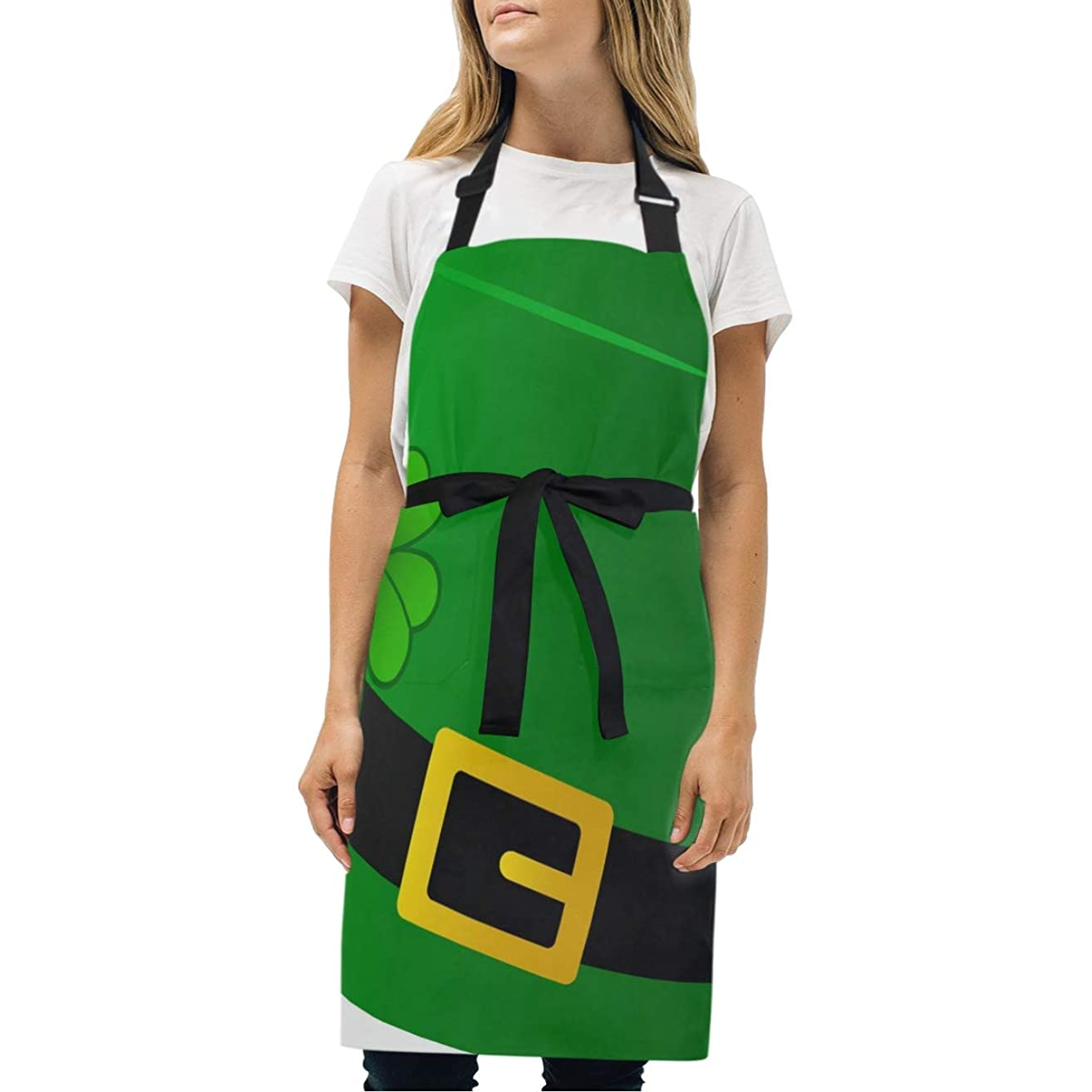 HJudge Womens Aprons St Kitchen Bib Aprons with Pockets Adjustable Buckle on Neck