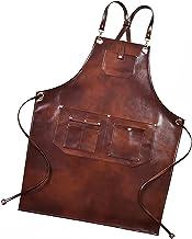 Schort leer voor mensenchef-kok schort kapper schort met zak verstelbare maat tool schort houtbewerking schorten Aardewerk...