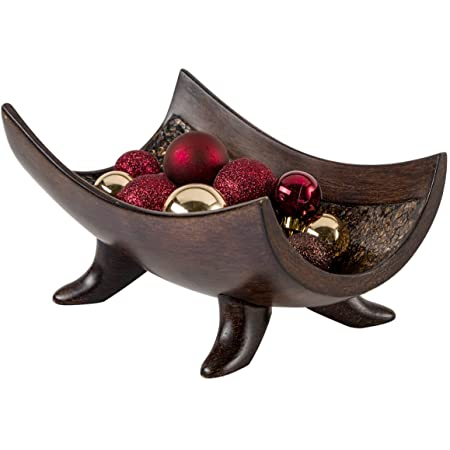 Schonwerk Decorative Bowl For Home Decor Centerpiece For Dining Room Table Coffee Table Decor Home Decorations For Living Room Mantle House Decor Decorations Or Key Bowl For Entryway