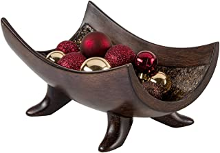 Creative Scents Schonwerk Decorative Centerpiece Bowl - Coffee Table Decor for Living Room - Centerpiece Dining Room Table Decorations for Home Decor - Mantle Fireplace House Decor