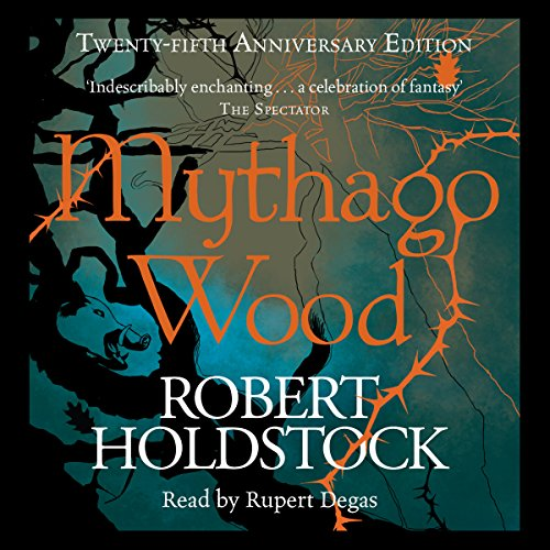 Mythago Wood audiobook cover art