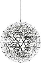 Ceiling Lighting, Modern Firework Ceiling Pendant Lamp, Bar Kitchen LED Stainless Steel Ball Chandelier Ceiling Lamp [Ener...