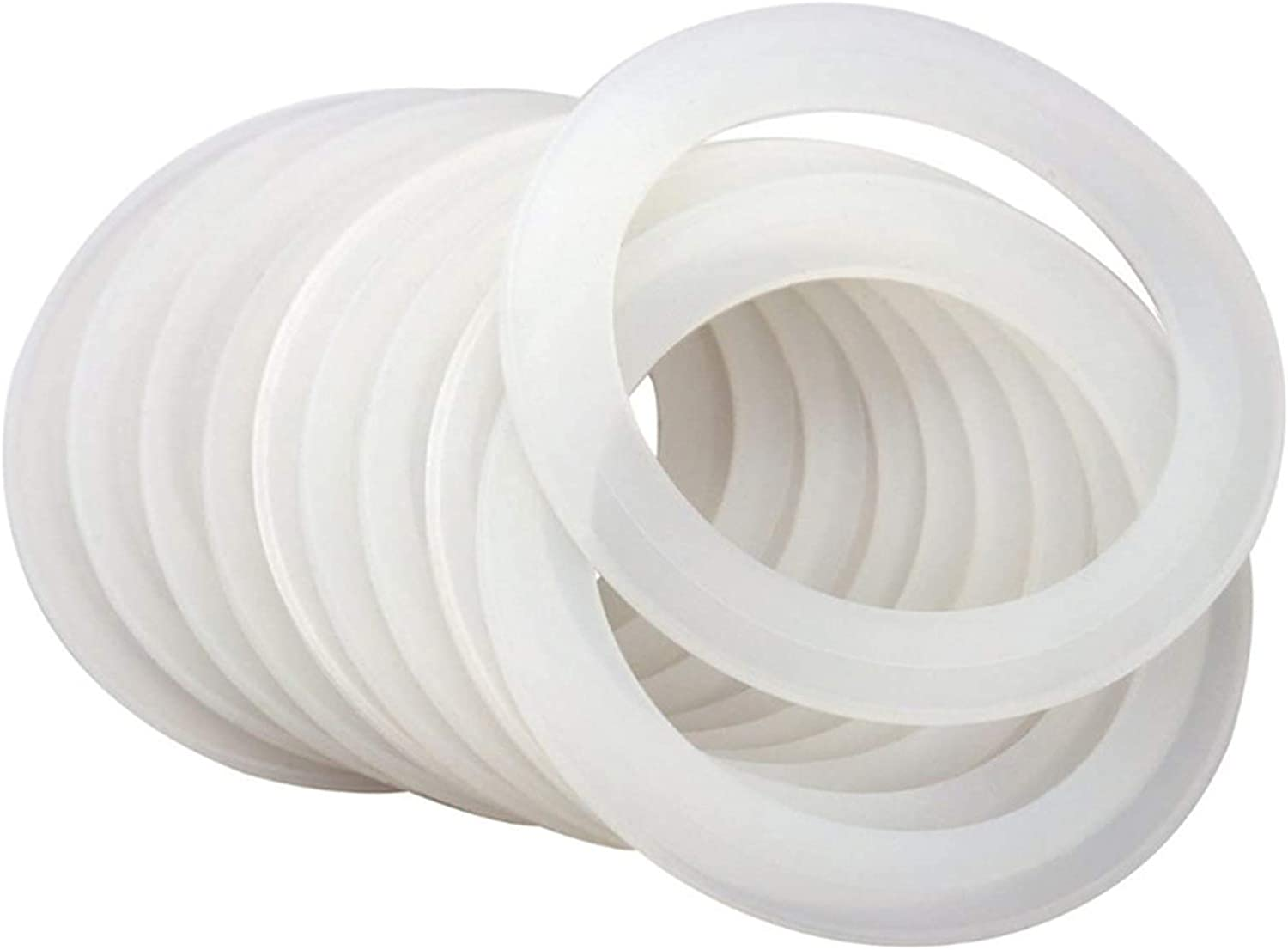 FAMKIT 10Pcs Sealing Rings Reusable Gaskets Silicone specialty shop Co Max 81% OFF