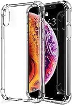 mobile store Armor Impact iPhone XS Max Uyumlu Kılıf, Darbelere Karşı Koruyucu, Şeffaf Silikon PVC Kapak