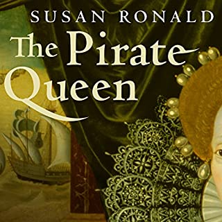The Pirate Queen audiobook cover art