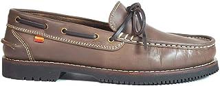 Zapatos náuticos Tipo Apache Unisex La Valenciana Olivenza Marrón
