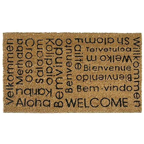 Felpudo Welcome  marca Rubber-Cal