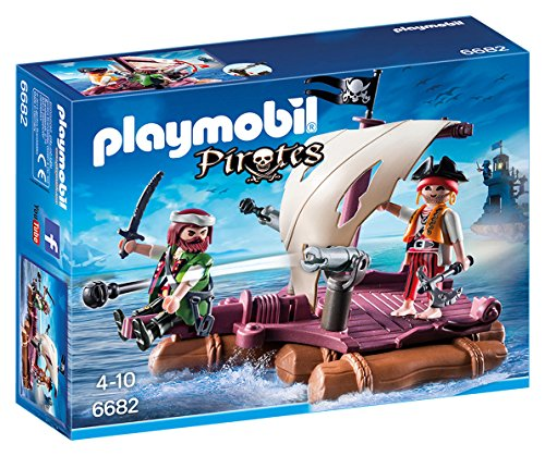 PLAYMOBIL - Balsa Pirata 66820