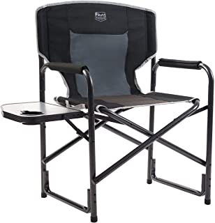 portable director's chair with table