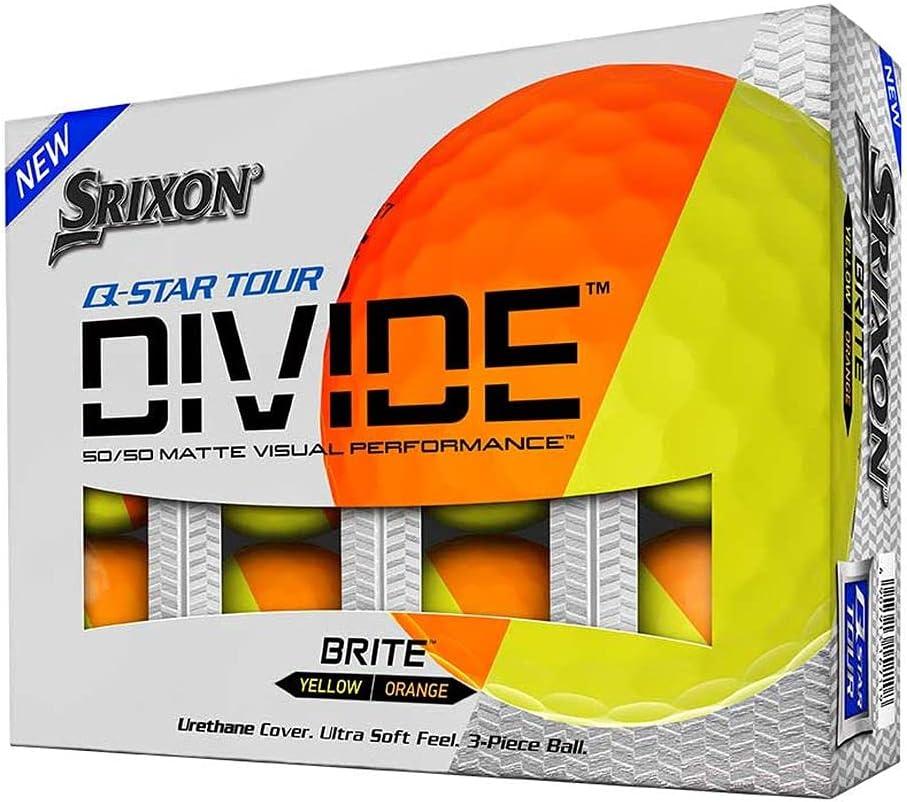Srixon NEW ARRIVAL セール品 Q-Star Tour Yellow-Dozen Divide-Orange