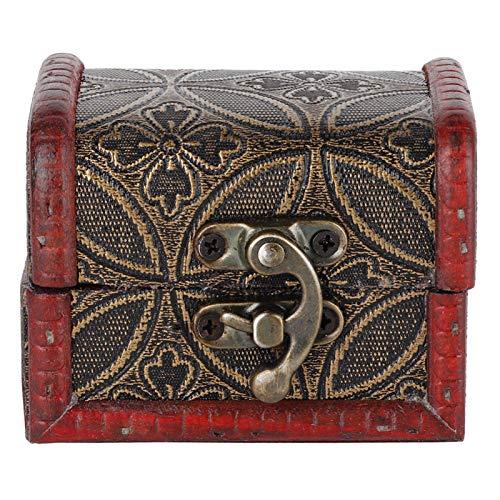 Treasure Box a prueba de polvo, una hermosa decoración para el escritorio del hogar y la mesa de oficina, como estuche de regalo(Copper coin)