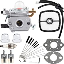 Dalom PB-200 Carburetor Kit C1U-K78 for Echo PB200 PB201 ES210 ES211 Blower Tune-Up Kit Air Filter with Cleaning Tool Primer Bulb Fuel Lines Kit A021000942 A021000943 Shredder