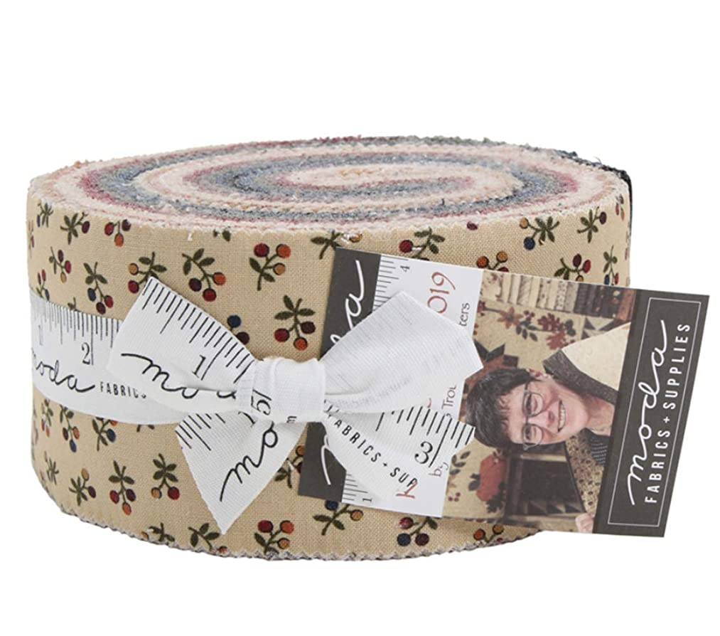 Kansas Troubles Favorites 2019 Jelly Roll 40 2.5-inch Strips Moda Fabrics