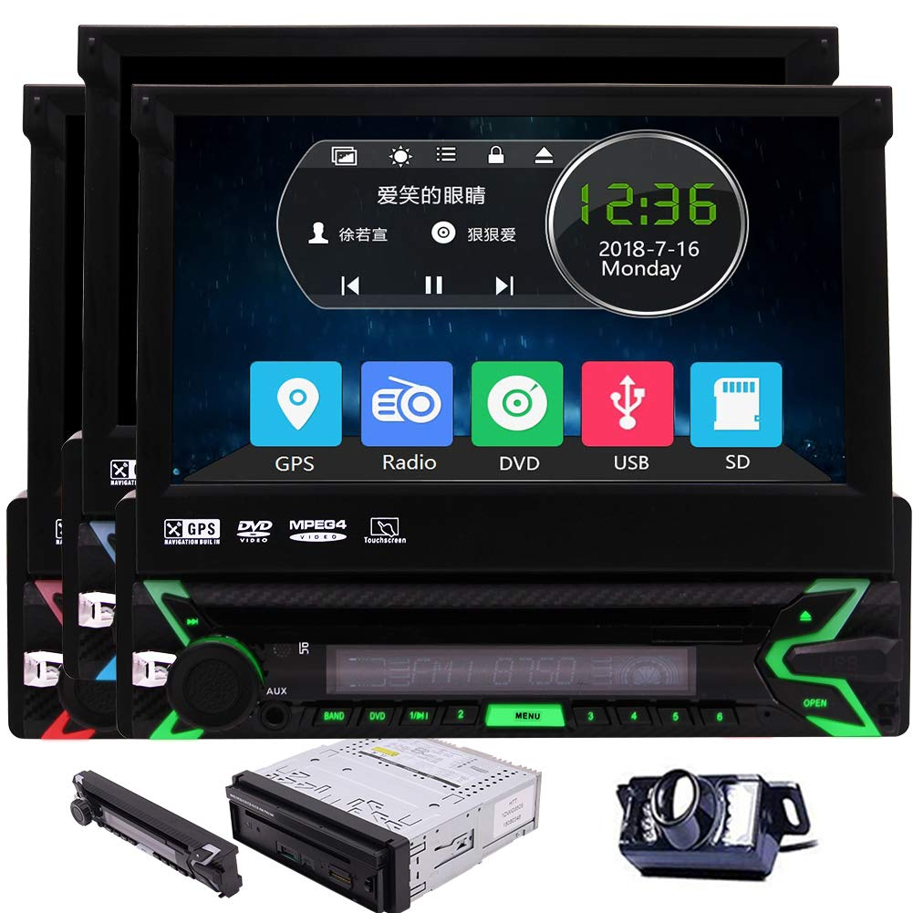 Detachable Touchscreen Autoradio Bluetooth subwoofer