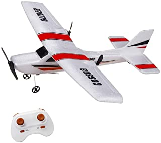 Sponsored Ad - LBKR Tech RC Plane, 2.4Ghz 2 Channel Remote Control Airplane Ready to Fly,RC Aircraft Built in 6-Axis Gyro,...