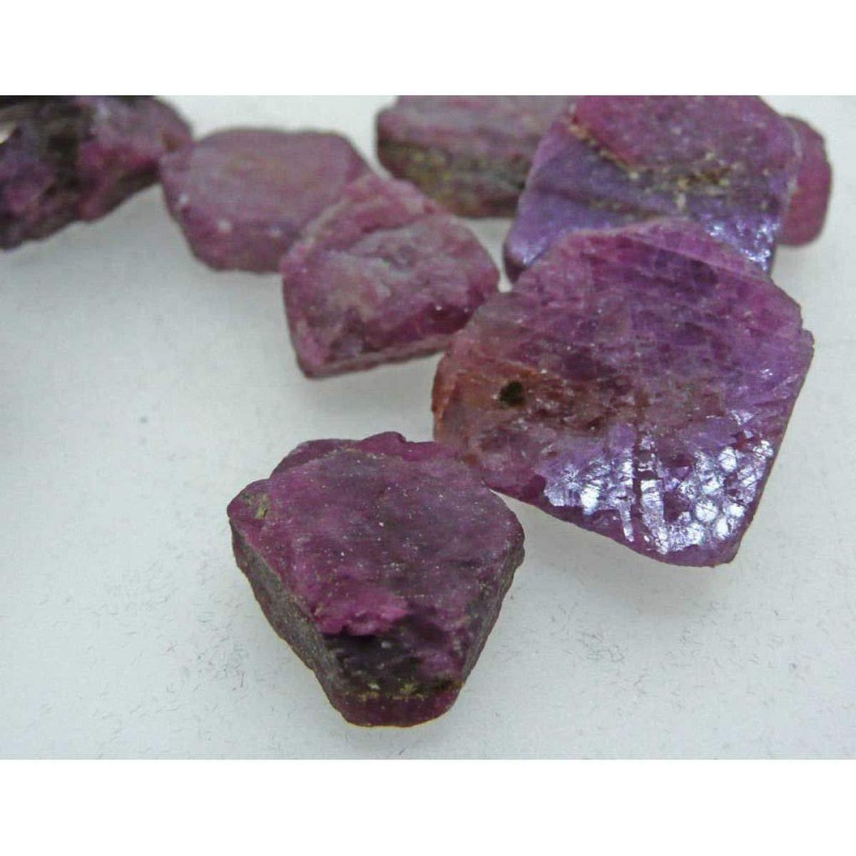 Rubi Bruto Piezas Entre 2-5 Gramos Minerales y Cristales, Belleza energética, Meditacion, Amuletos Espirituales: Amazon.es: Hogar