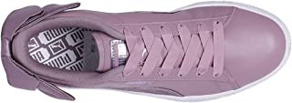 Puma Women's Basket Bow Satin Wn s Leather Sneakers