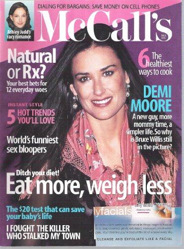 McCall's Magazine September 2000 Demi Moore