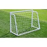 Red de portería de fútbol gloglow de 8 x 4 pies, red de portería de fútbol para postes de fútbol, resistente, tamaño completo (solo la red)