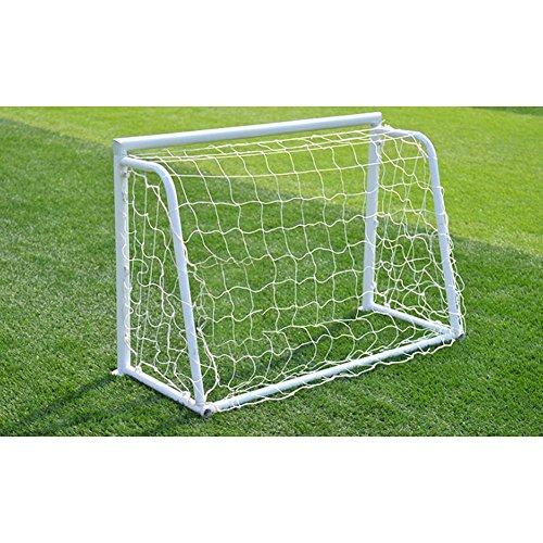 GLOGLOW Fußballtornetz, 2,4 x 1,2 m Fußballtornetz, robustes Netz, komplette Größe (nur Netz)