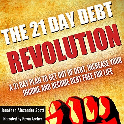 The 21 Day Debt Revolution audiobook cover art