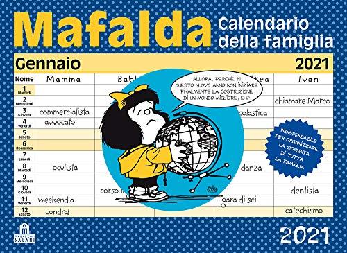 Mafalda. Calendario della famiglia 2021