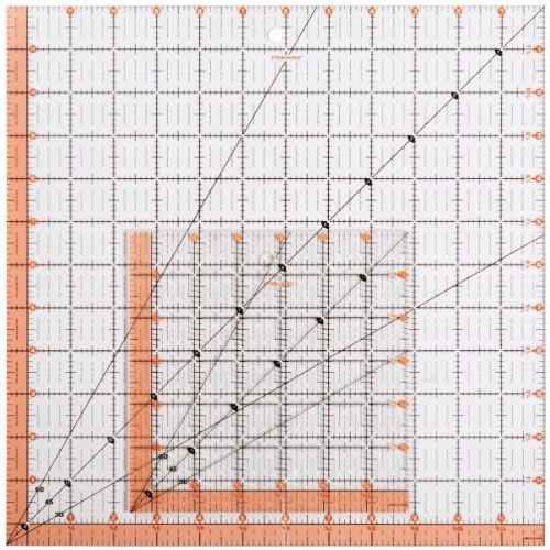 Fiskars Square Acrylic Ruler Set (187210-1001)